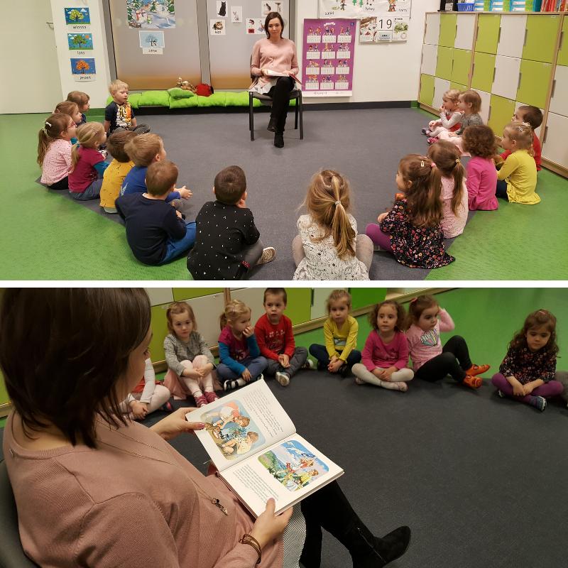 Cała Polska Czyta Dzieciom Wizyta Mamy Amelki Publiczne